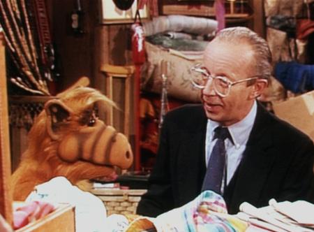 Alf ALF serial komediowy, USA 1986 scena z: Max Wright fot. AKPA