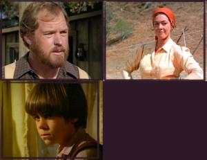The Garvey Family (Merlin Olsen, Hersha Parady & Patrick Laborteaux)