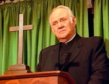 Reverend Alden (Dabbs Greer)