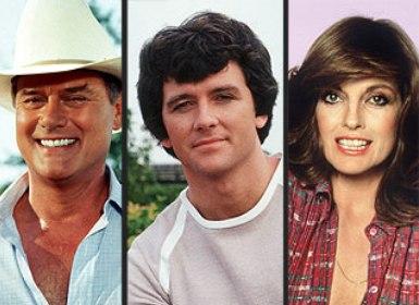 J.R. Ewing-Larry Hagman Bobby Ewing-Patrick Duffy Sue Ellen Ewing-Linda Gray