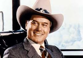 Larry Hagman as JR Ewing