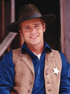 John Schneider stars as Daniel Simon in DR. QUINN, MEDICINE WOMAN.
