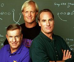 "Coach-Hayden Fox-Craig T. Nelson, Luther Van Dam-Jerry Van Dyke,Michael ""Dauber"" Dybinski-Bill Fagerbakke"
