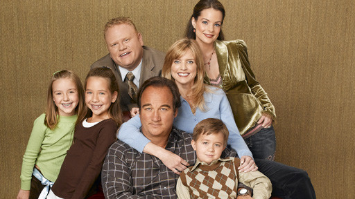 According to jim cast Jim-Jim Belushi Cheryl-Courtney Thorne-Smith Dana-Kimberly Williams-Paisley Andy-Larry Joe Campbell Ruby-Taylor Atelian Gracie-Billi Bruno Kyle-Conner Rayburn and Garret & Connor Sullivan