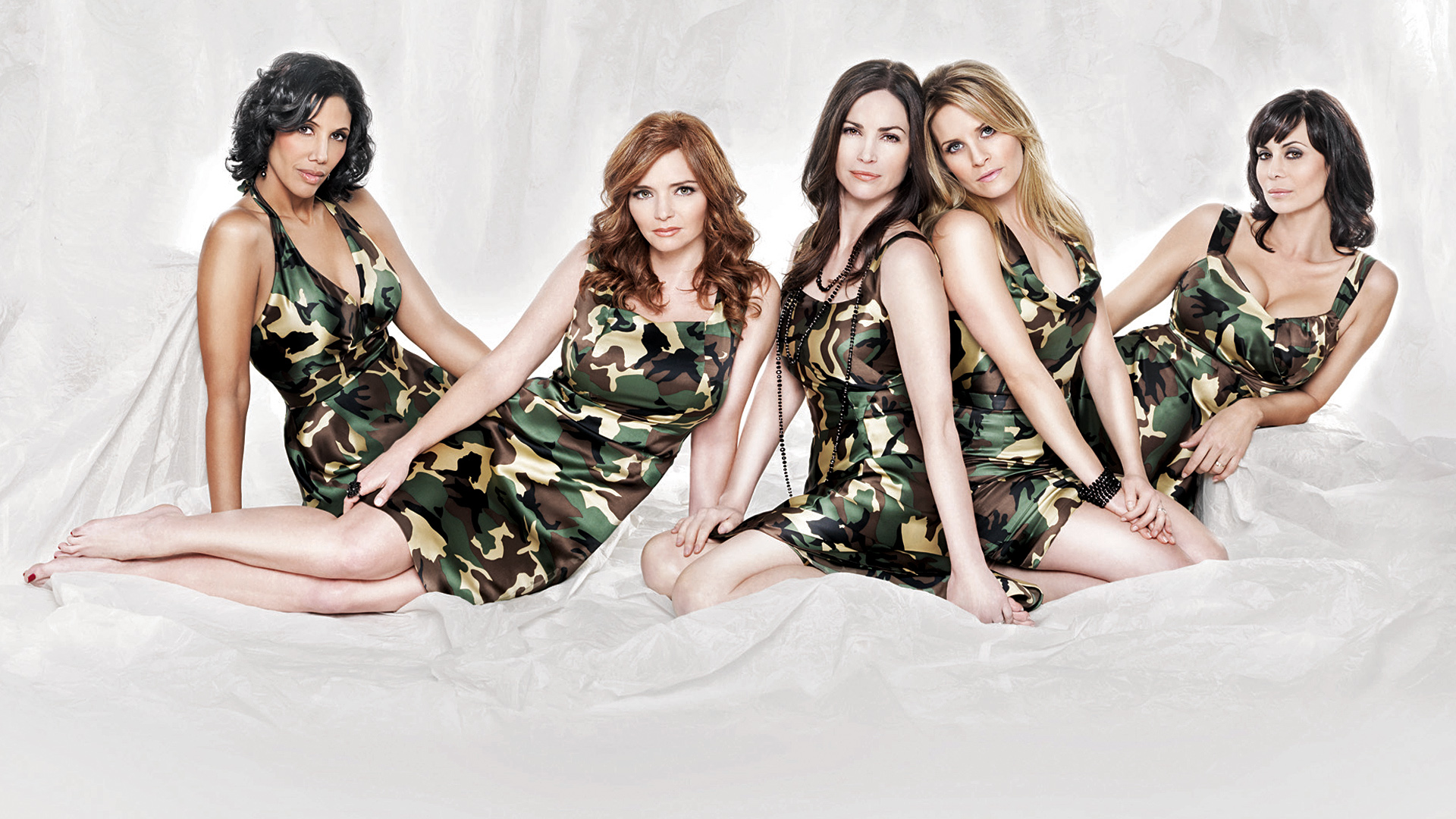 Kim Delaney Young Army Wives Cast in cam...