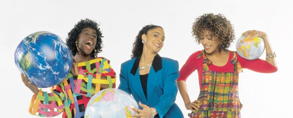 Cast Of A Different World With Globe