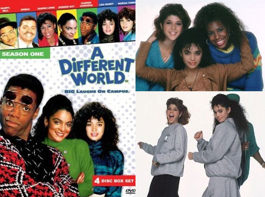A Different world VHS cover