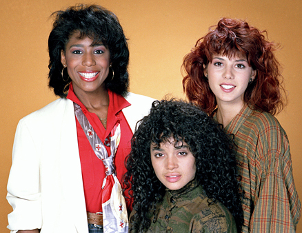 A Different World-Roommates. Maggie, Denise and Jaleesa