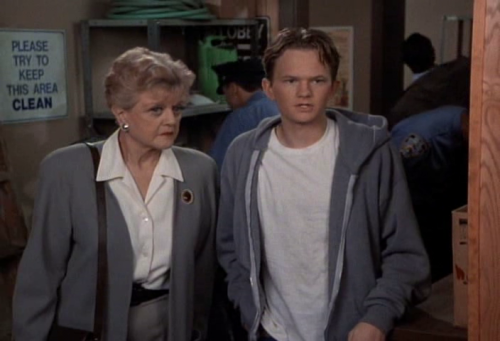 Angela Lansbury and Neil Patrick Harris