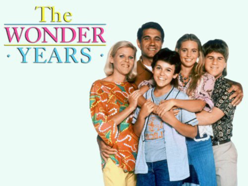 The Wonder Years Cast and logo