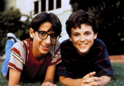 The Wonder Years Kevin Arnold-Fred Savage and Paul Pfeiffer-Josh Saviano