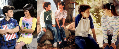 The Wonder Years Kevin Arnold-Fred Savage and Winnie Cooper-Danica McKellar