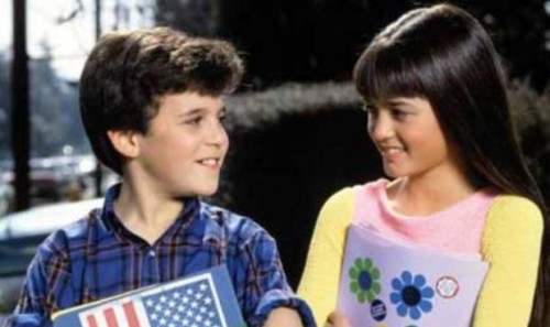 Kevin Arnold-Fred Savage and Winnie Cooper-Danica McKellar