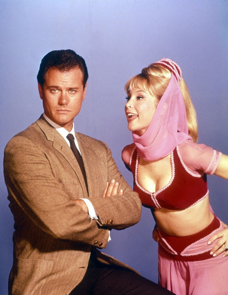 I dream of Jeannie -Jeannie-Barbara Eden andTony Nelson-Larry Hagman