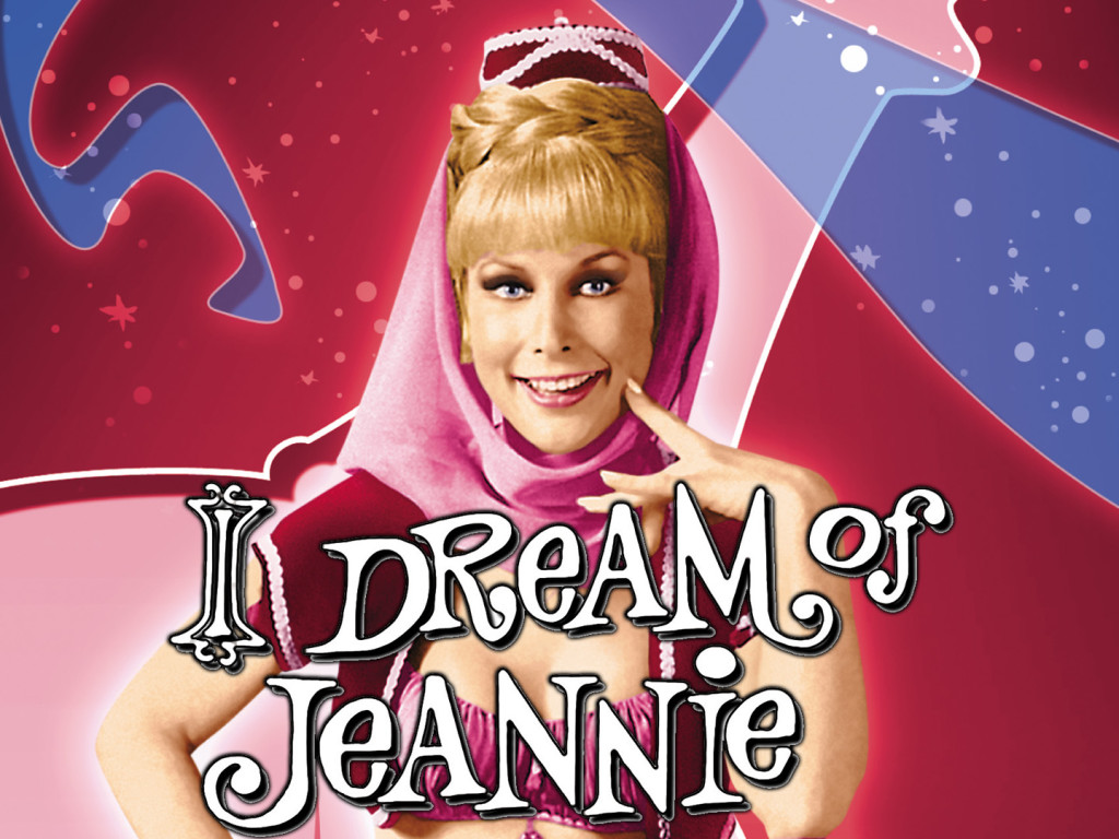 I dream of Jeannie -Jeannie-Barbara Eden
