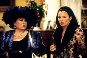 The Nanny with roseanne Barr