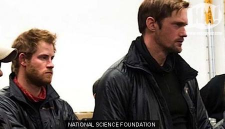 Skarsgard and Prince Harry