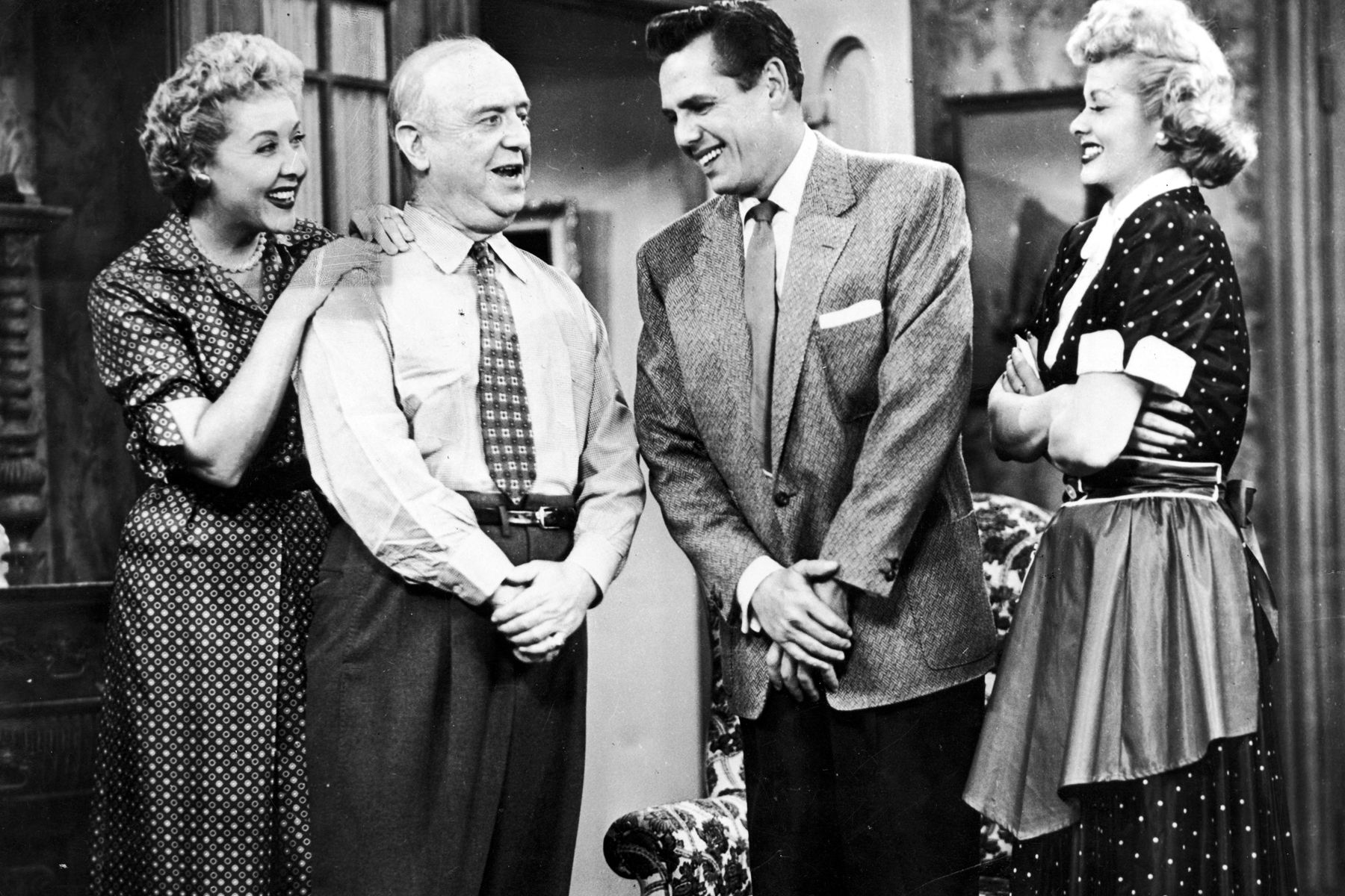 1956 When Elvis Presley Eared For The First Time On Ed Sullivan Show And Won An Aunce Share Of 82 6 Photo Courtesy Cbs I Love Lucy